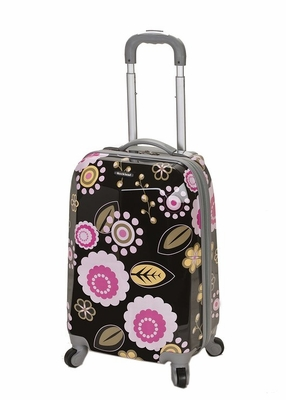 """F151-PUCCI 20"""" Polycarbonate Carry On  Luggage Set"""
