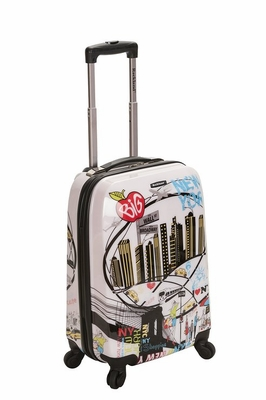 "F2061-NEWYORK 20"" Polycarbonate Carry On  Luggage Set"