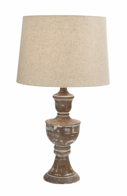 Fabulous Wood Table Lamp - 24990 by Benzara