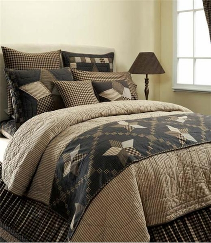 VHC Brands 9835 Farmhouse Star Quilt Luxury King Size – Makes The ... : kingsize quilts - Adamdwight.com