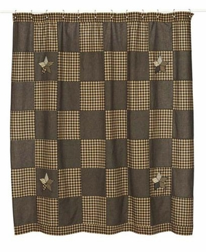 Farmhouse Star Shower Curtain: Gives Cool And Natural Feel Brand VHC