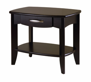 Fascinating Contemporary Styled Danica End Table by Winsome Woods