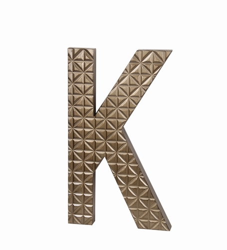Buy Fascinating Small Wood Letter K Design By Privilege