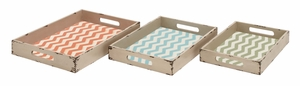 Fascinating Styled Classy Wood Tray - 34963 by Benzara