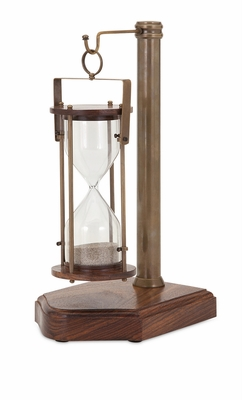 Fashionable Beth Kushnick Sand Timer with Stand