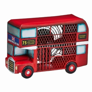 Figurine Fan - Double Deck Bus