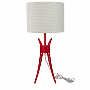 Flair Table Lamp, White