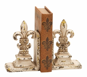 Library Polystone Bookend Pair - 34844 by Benzara