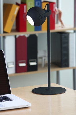 Focus Table Lamp Black by Lumisource