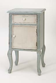 Wood End Table A French Decor - 61407 by Benzara