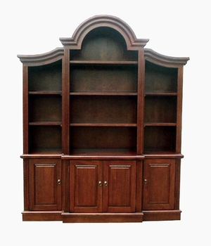 Fribourg Bookcase, Arch Design Creatively Prolific Creation