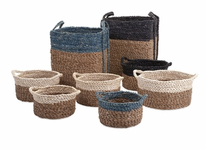 Functional Magnificent Bennet Woven Baskets - Set of 8