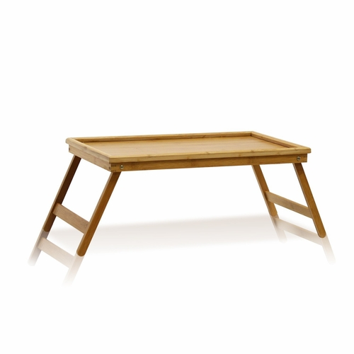 Buy furinno bamboo lapdesk bed tray natural at for Wild orchid furniture