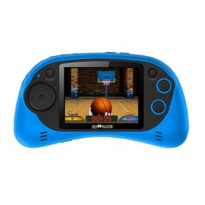 Game Console with 120 16-Bit Built-in Games - Blue