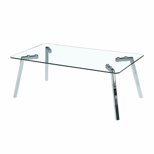 Glacier Coffee Table Clear by Lumisource