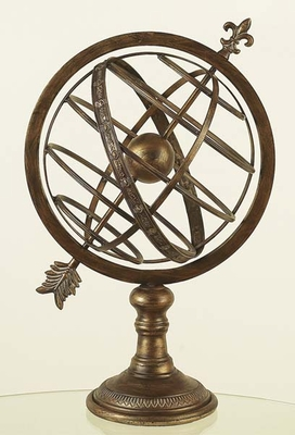 METAL ARMILLARY SPHERE INTRODUCED RECENTLY - 80463 by Benzara