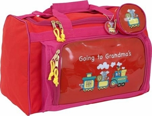 Going To Grandma's Duffle Bag - Red