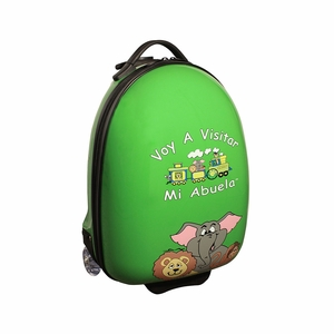Going To Grandma's GG-200-GR Green Luggage