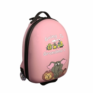 Going To Grandma's Pink Luggage