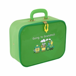 Going To Grandma's Suitcase - Green