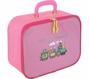 Going To Grandma's Suitcase - Pink