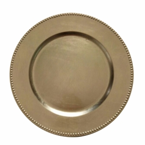 The Urban Port Gold Charger Plate Set of 24