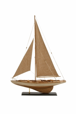 Gorgeous Miniature Wood Sailing Ship - 71591 by Benzara