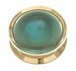 Grand And Elegant Brass Magnifier - 24384 by Benzara