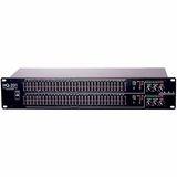 Graphic Equalizer Two Channel 31 Band Constant Q Filtering Feedback Detection Circuit