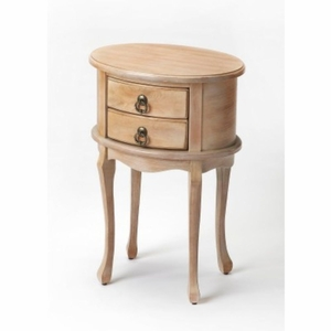 Butler Gray Oval Side Table