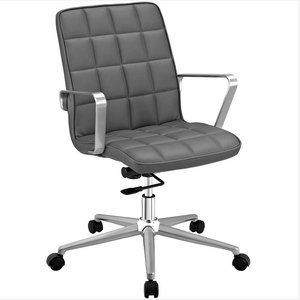 Gray Tile Office Chair