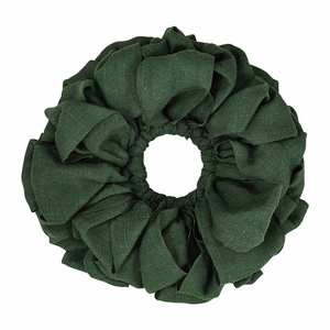 Green Burlap Wreath 15 - 26858 by VHC Brands
