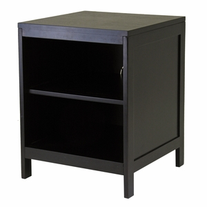Hailey TV Stand with Small Open Shelf by Winsome Woods