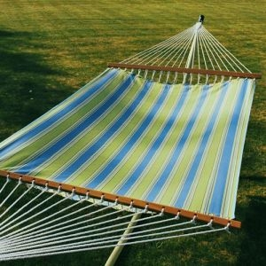 Hampton Bay Summer Print 13' Fabric Hammock by Algoma