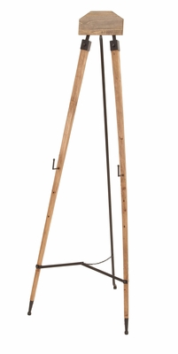 Metal Wood Easel Unique Home Accents - 55861 by Benzara