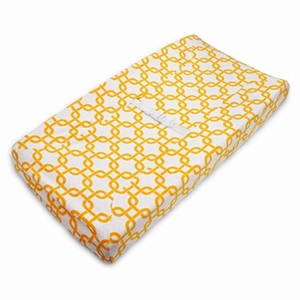 Heavenly Soft Chenille Fitted Contoured Changing Pad Cover