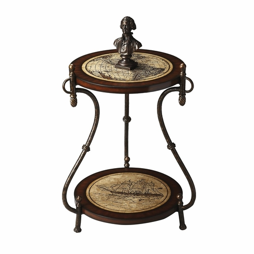 butler specialty bts 4195070 heritage accent table 23 quot diam