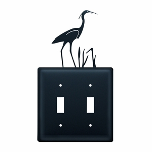 Heron - Double Switch Cover