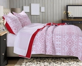 Holly, Cross Stitch Style Quilt Set, 2-Piece-Twin