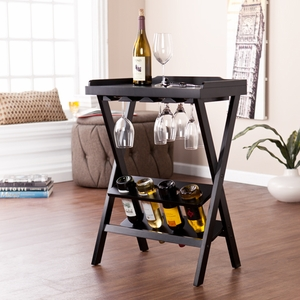 Holly & Martin Acorra Wine Table by Southern Enterprises