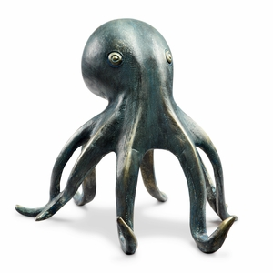 Hypnotizing Octopus Cell Phone Holder with Bluetooth Speaker by SPI-HOME