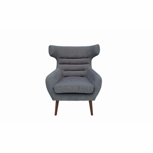 Iconic Cabriole Steel Fabric Chair - IN21 by Vifah