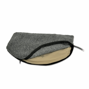 "KHM-1045 Igloo Style Outdoor Heated Pad Deluxe Cover Large Gray 14.5"" X 24"""