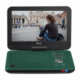 IMPECCA 10.1in PORTABLE DVD PLAYER, TEAL