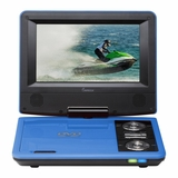 IMPECCA 7in PORTABLE DVD PLAYER - BLUE