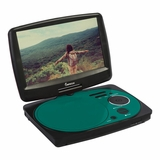 IMPECCA 9in PORTABLE DVD PLAYER - TEAL
