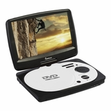 IMPECCA 9in PORTABLE DVD PLAYER - WHITEE