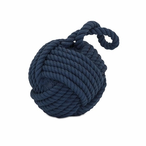 Incredible Hauer Blue Nautical Rope Ball by IMAX