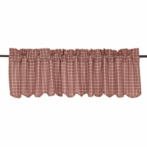 Independence Scalloped Valance 16x72 - 24996 by VHC Brands