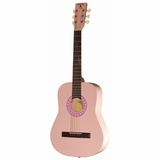 "Indiana 36"" Steel String Acoustic W/ Bag Pink"